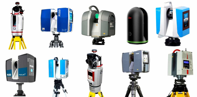 Comparatif des marques de scanner laser 3D