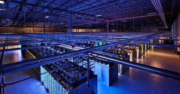 A l'intérieur d'un datacenter de Google
