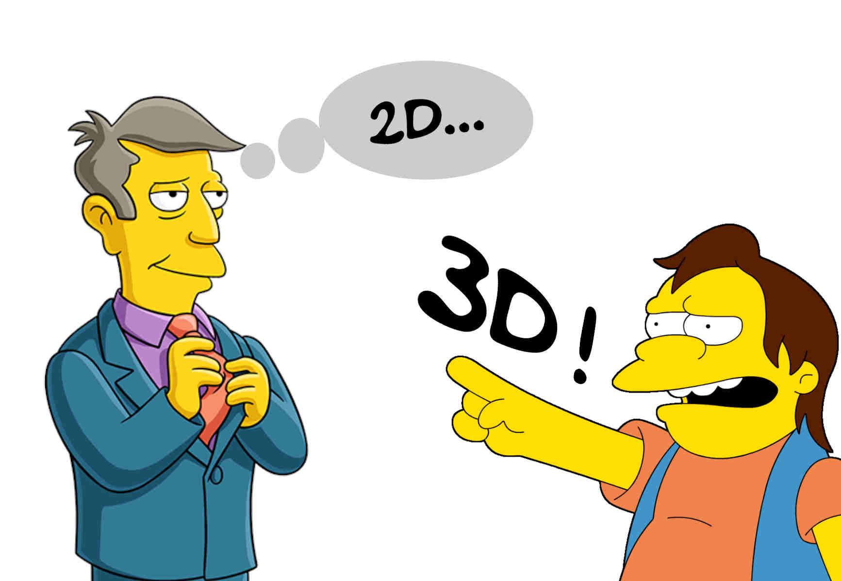 Les débats sur la 3D sont souvent assez limités...