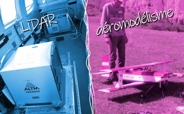 Divergence technologique entre LiDAR et aéromodelisme
