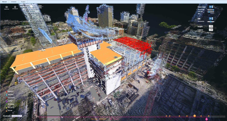 Gestion de chantier par comparaison entre la maquette BIM et la réalité construite capturée en 3D