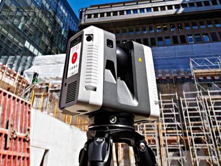 Scanner laser 3D (LiDAR) - Leica RTC 360