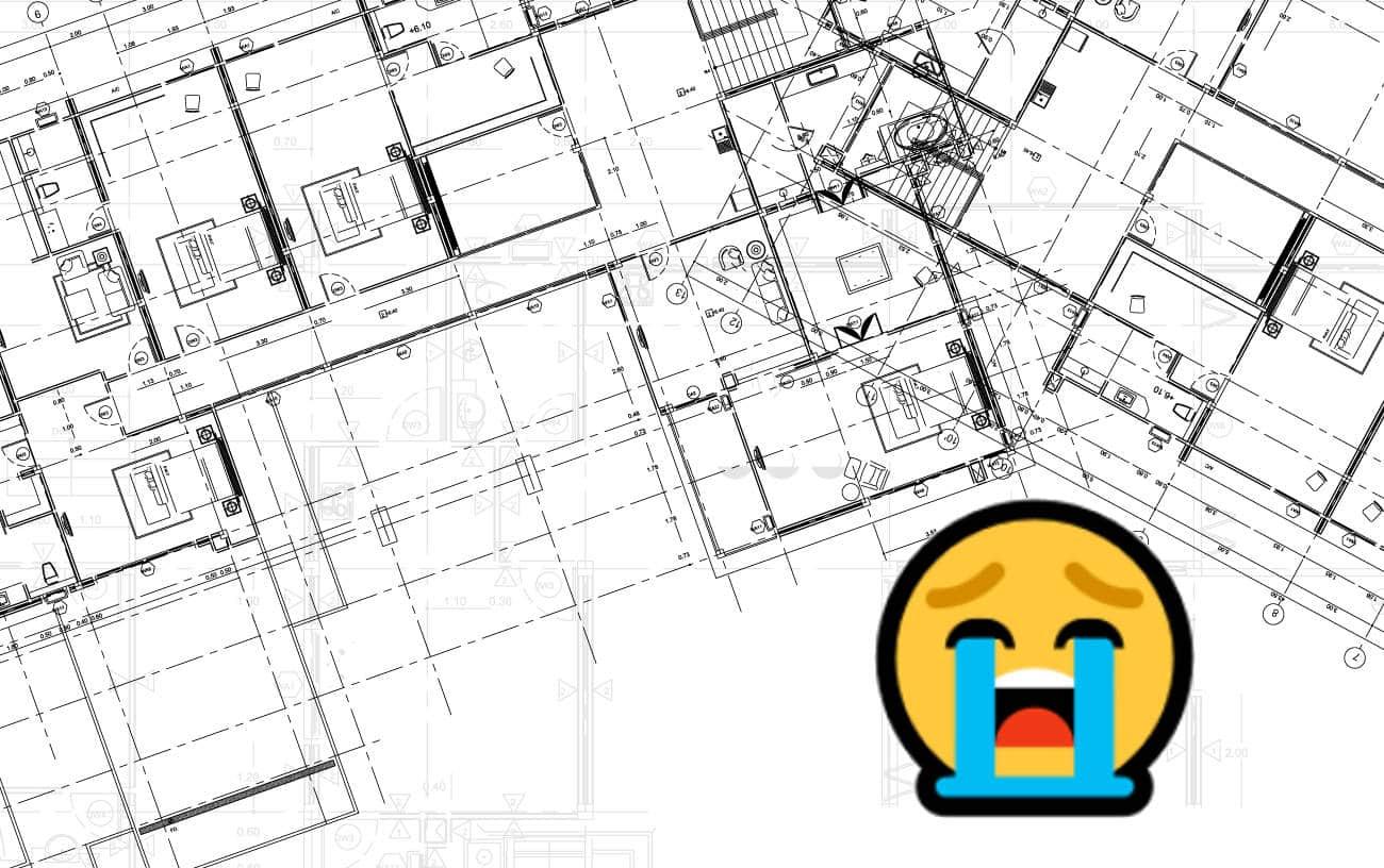 Dessiner un projet en 2D et devoir le modifier est une galère !