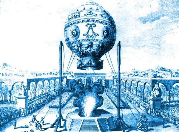 Le premier vol habité en 1783