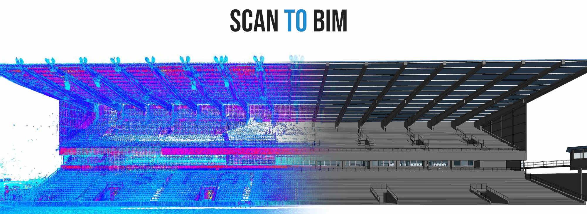 Scan to BIM : modéliser une maquette numérique BIM sur la base d'un nuage de points