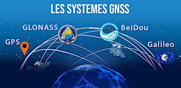 Les systèmes GNSS mondiaux pour géo-positionner les données 3D scannées