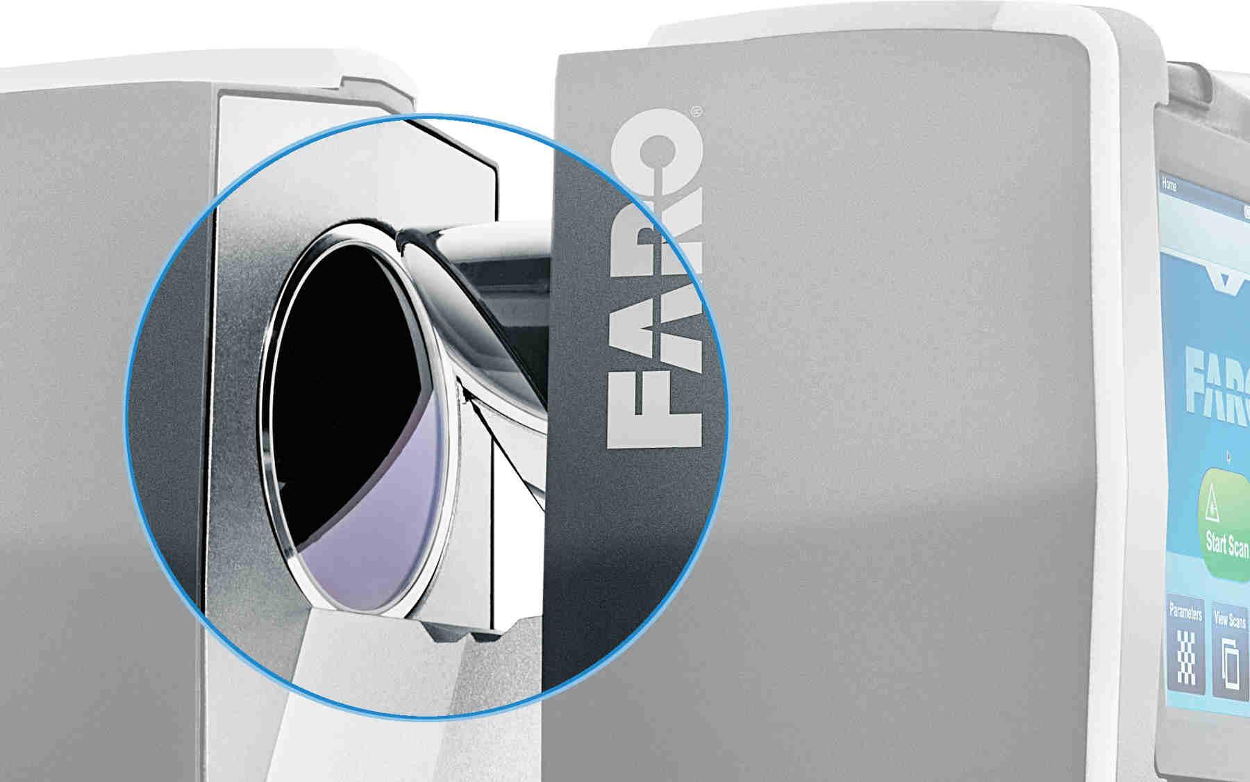 Miroir rotatif scanner laser 3D - Faro Focus